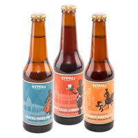 Three Bottles with Coisbo Beer