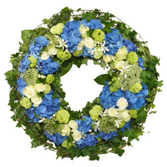 Eternal peace funeral wreath