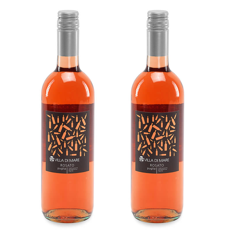 2 bottles of Rosé wine