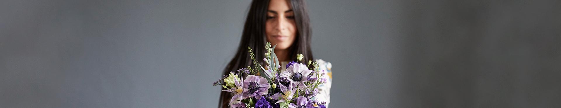 Blomster til hende