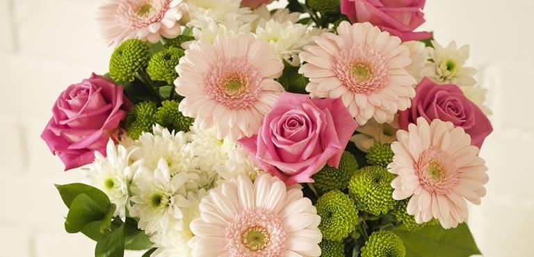 Sig undskyld med blomster