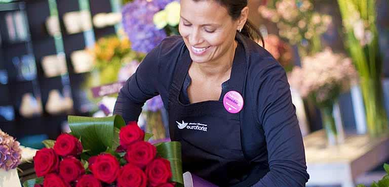 Find blomsterhandler