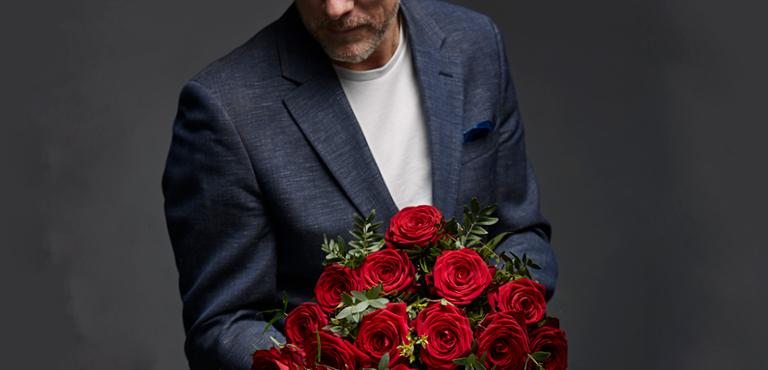 Den røde rose, symbol for kærlighed