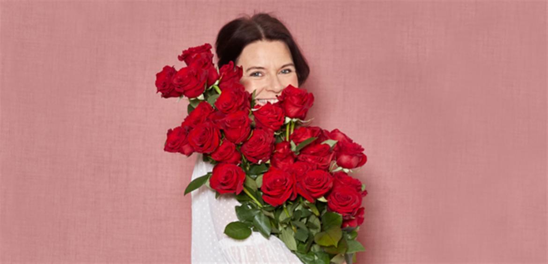 Valentinsdag blomster