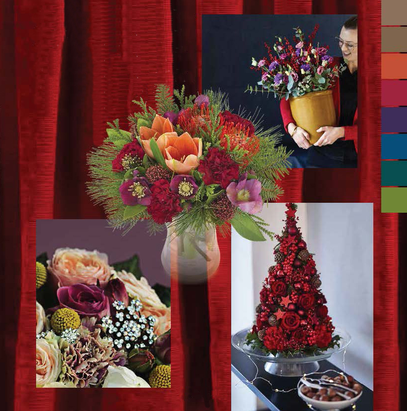 Blomstertrend Curious collage efterår og vinter 2018