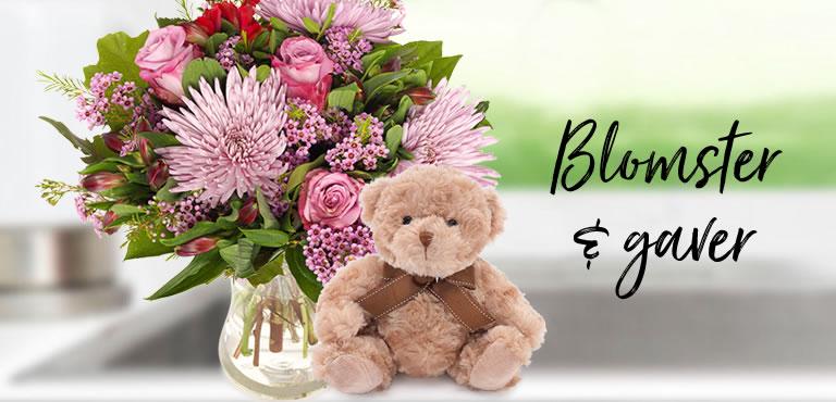Send blomster og gaver