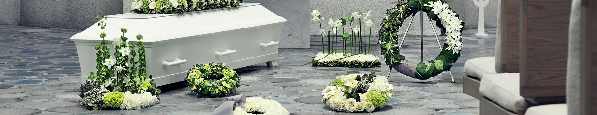 Blomsterguide til begravelse