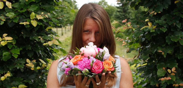 Send blomster som tak