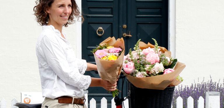 Send blomster til udlandet